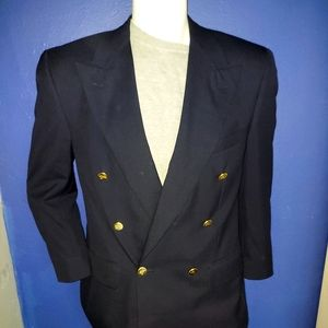 Burberry Vintage Double Breasted Blazer Size 42S